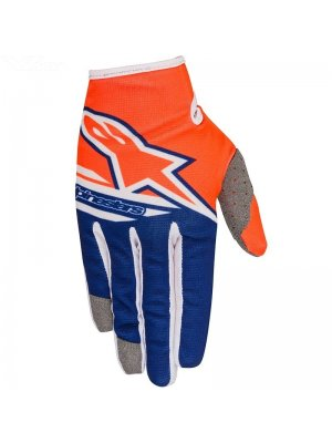 Ръкавици Alpinestars RADAR FLIGHT Blue/Orange Gloves